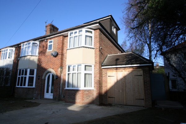 Residential Extension Commission: North Oxford, Oxfordshire 2